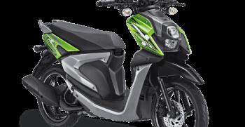 All New X Ride 125 Hijau
