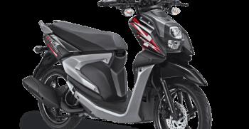 All New X Ride 125 Hitam